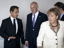 European Leaders Meet To Resolve The EU Debt Crisis