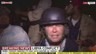 Krieg in Libyen TV-Berichterstattung aus Libyen