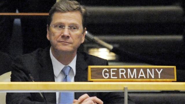Bundesaußenminister Westerwelle bei der UN