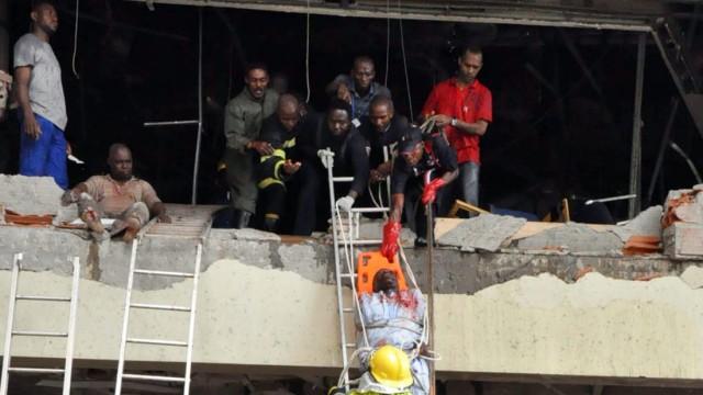 Bombenanschlag Explosion in Nigerias Hauptstadt Abuja