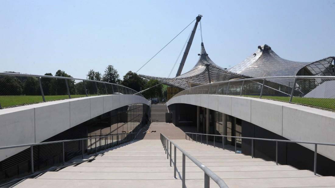 Kleine Olympiahalle vor der Eröffnung - Neue Konzerthalle ...