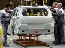 Produktion Opel in Bochum
