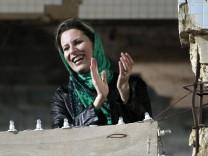Aischa Gaddafi, Tochter LibyenMuammar Gaddafi Tripolis