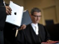 Duesseldorfer Gericht verhandelt ueber Verkaufsverbot für iPad-Rivalen 'Galaxy Tab 10.1'