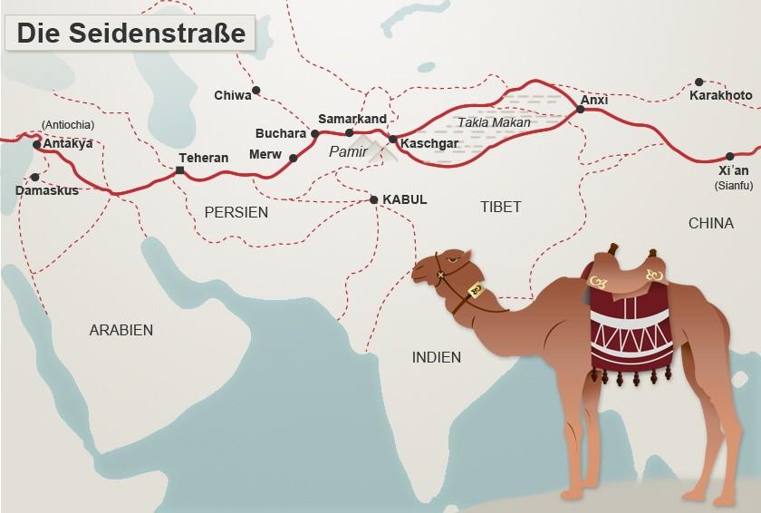 Legendäre Reiseroute: Die Seidenstraße - Marco Polos Märchenwelt ...