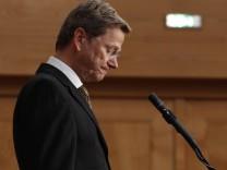 Außenminister Guido Westerwelle FDP