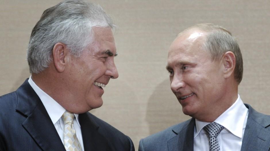 Vladimir Putin, Rex Tillerson