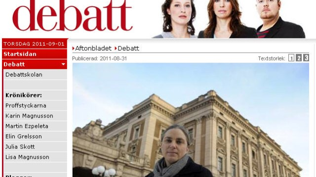 Aftonbladet Debatte Klarnamen