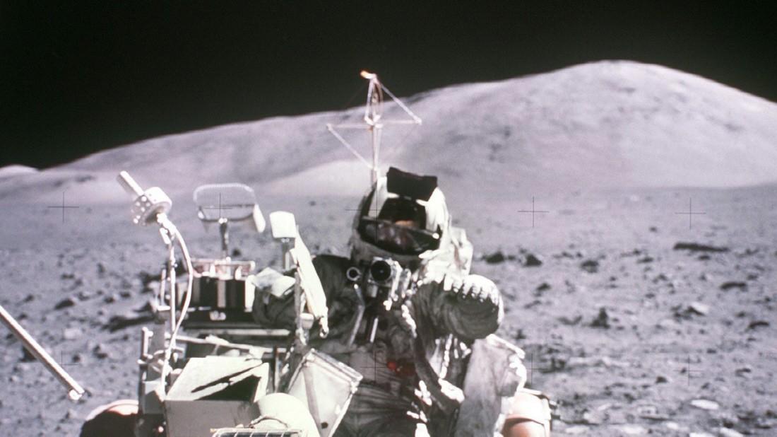 Wäsche für den Mond