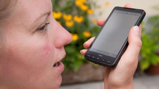 Spracherkennung Handy