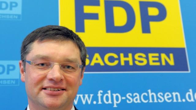 Landtagswahl Sachsen - Holger Zastrow FDP