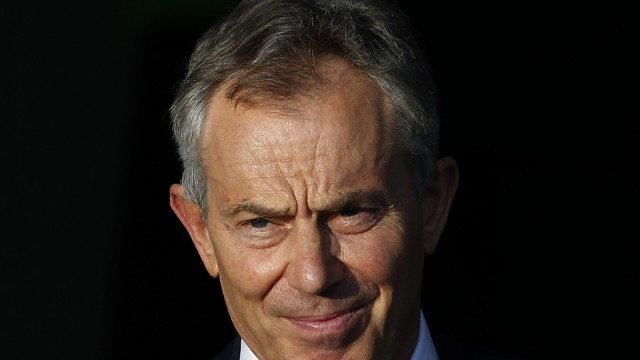 File photo of former British Prime Minister Tony Blair in London