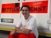 Erster Bundesfreiwilligendienstleistender im BRK