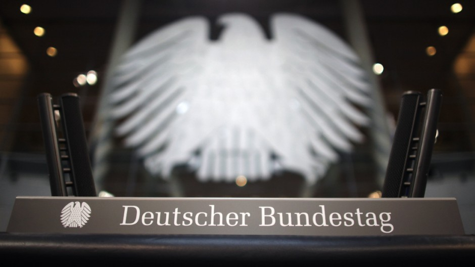 Umbau Plenarsaal Bundestag