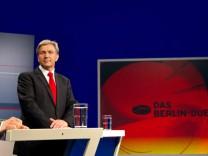 Berlin-Duell Wowereit - Künast