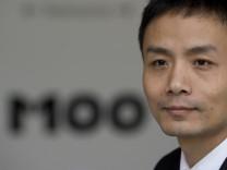 Chinesischer Blogger Michael Anti erhaelt M100 Medien Preis 2011