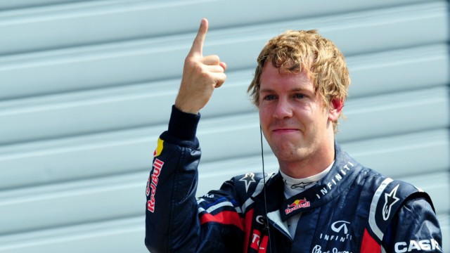 Formel 1 Sebastian Vettel holt in Monza die Pole