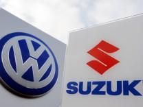 VW steigt bei Suzuki ein