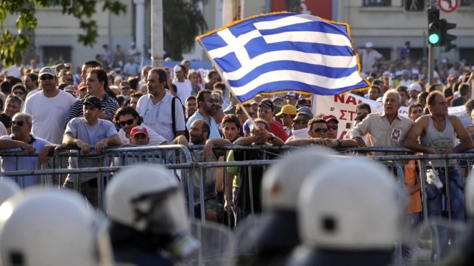 große Euro-Krise Griechenland vor der Insolvenz