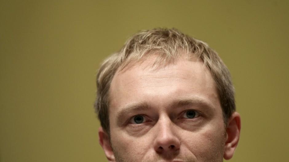 FDP-Generalsekretär Lindner sagt Pressekonferenz ab