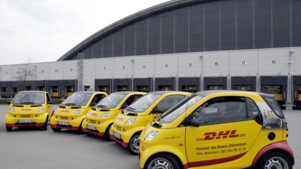 Smart-Flotte der DHL, 2005
