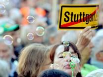OB Schuster spricht vor Stuttgart 21 Gegnern