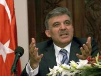 Türkischer Staatspräsident  Abdullah Gül