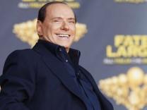 Silvio Berlusconi attends Atreju