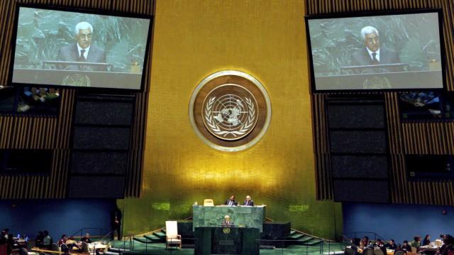 Abbas will Palästinenserstaat als UN-Vollmitglied