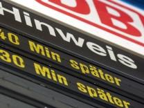 Deutsche Bahn kämpft weiter mit Unpünktlichkeit