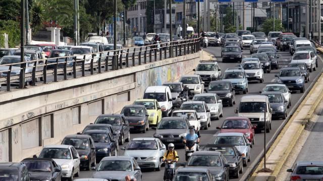 Strike of public transport workers in Greece
