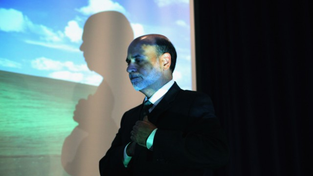 Fed Chair Ben Bernanke Speaks At Conference On Systemic Risk