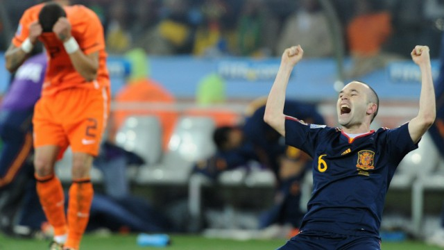 Jahresrückblick 2010 - Spanien ist Fußball-Weltmeister