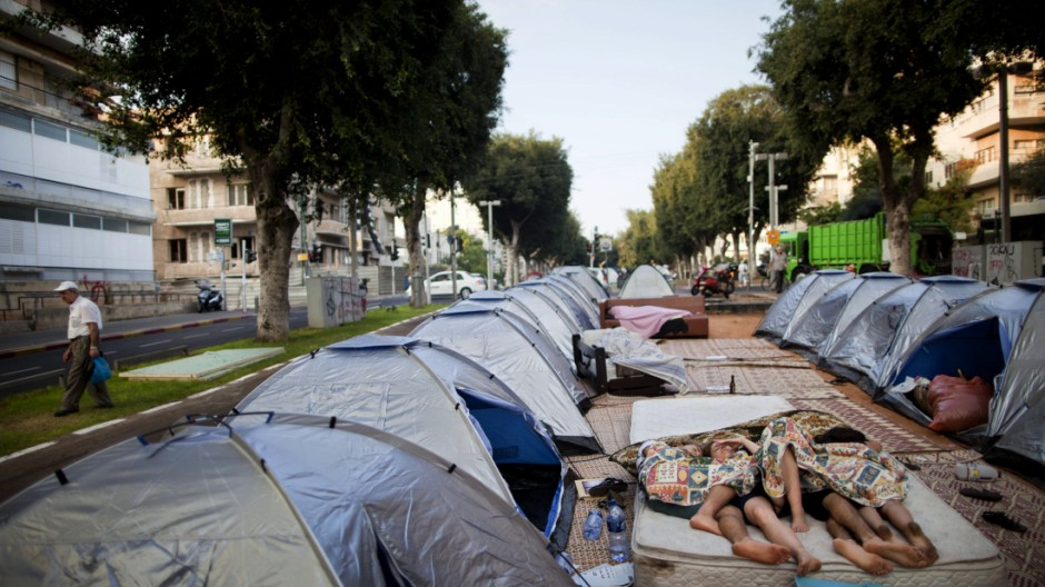 Proteste in Israel Sozialproteste in Israel