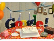 Google Doodle: Google's 13. Geburtstag