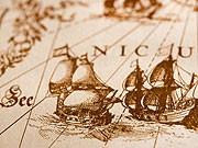 historische Seekarte