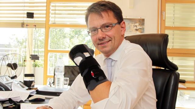 Bruck: Landrat Thomas Karmasin mit Wiesn-Verletzung