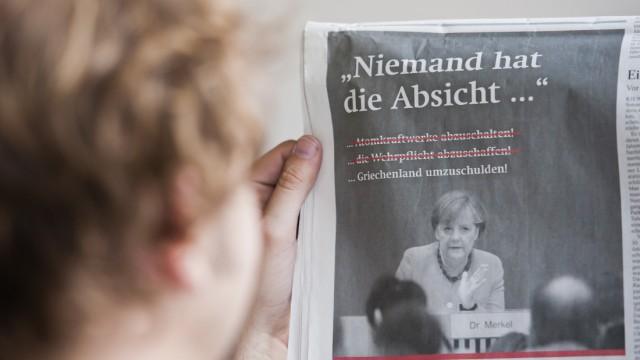 Anzeigenkampagne der SPD sorgt fuer Streit
