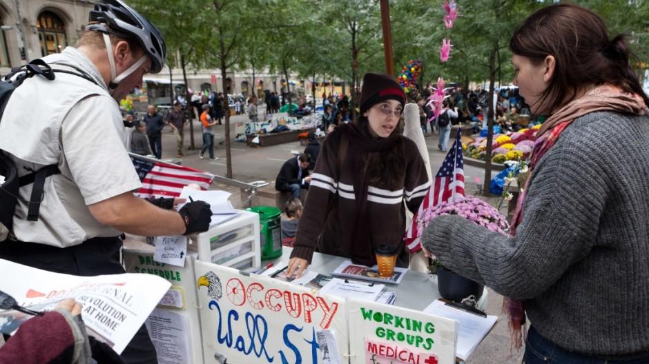 Occupy Wall Street Anti-Wall-Street-Proteste