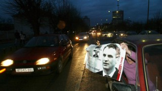 Kosovo Albanians celebrate acquittal of former rebel Limaj