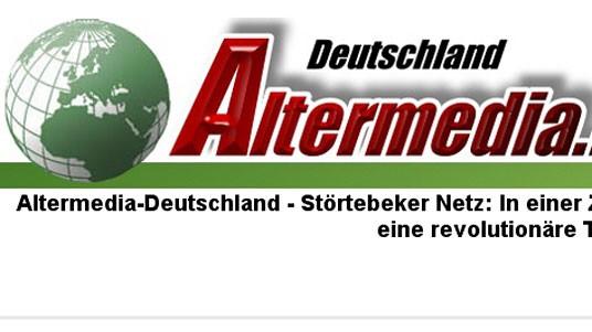 Altermedia, Rechtsextremismus, Internet