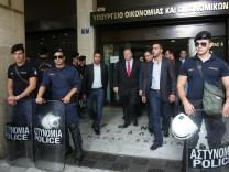 Greek finance minister.