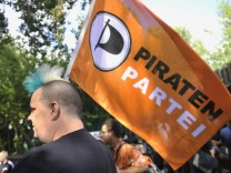 Aufstieg der Piraten veraendert Parteienlandschaft in Deutschland