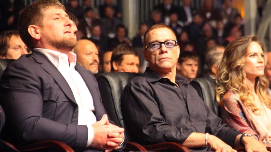 Ramsan Kadyrow Party des tschetschenischen Präsidenten Kadyrow