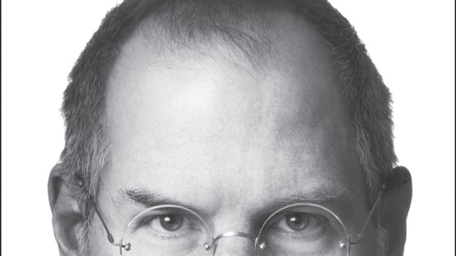 The cover of the new biography of Steve Jobs by author Walter Issacson is shown in this undated publicity photograph.