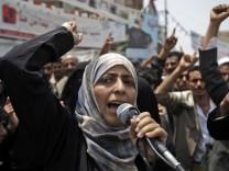 Friedensnobelpreis geht unter anderem an Tawakkul Karman