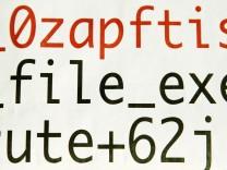 Code-Teile zu 'Spionage-Software'