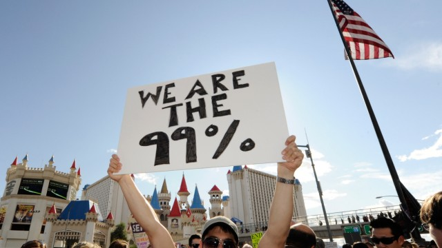 Wall Street Protests Spread To Las Vegas