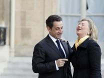 Hillary Rodham Clinton, Nicolas Sarkozy