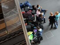 Zugverspätung wegen Brandsatzfund in Berlin